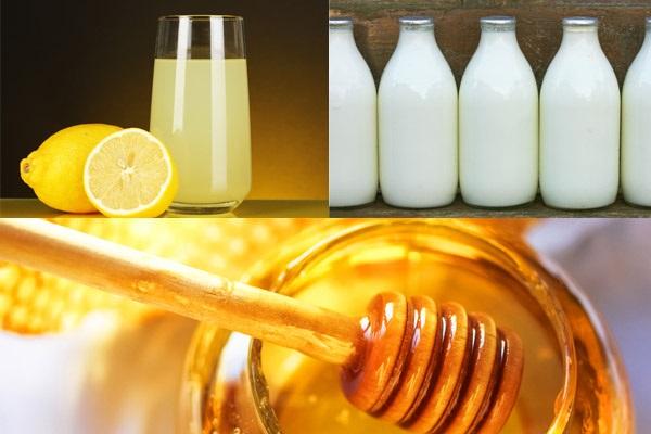 Dưỡng trắng da toàn thân tại nhà nhanh nhất với mật ong, sữa và nước chanh