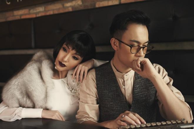 Dương Triệu Vũ chụp ảnh cùng Mai Hồ Album Nhạc tình muôn thuở 2