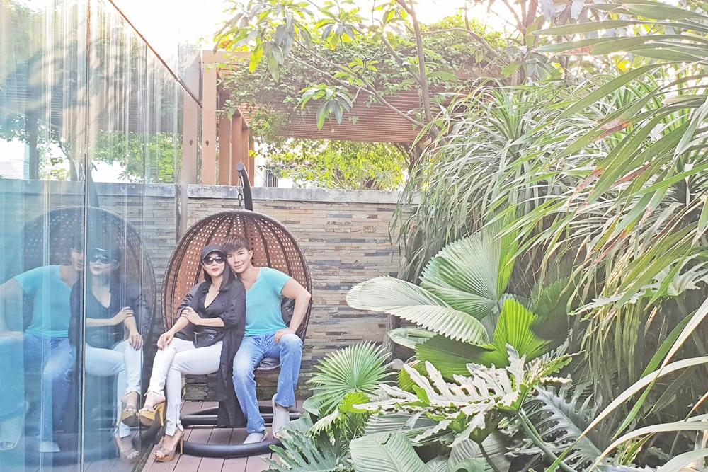 Mỹ Lệ thích thú khám phá villa 2 triệu USD xa hoa bậc nhất Sài thành của Nathan Lee - Ảnh 6