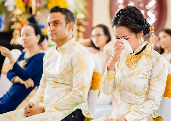 'Lóa mắt' nhìn Võ Hạ Trâm đeo vàng nặng trĩu trong hôn lễ cùng chồng doanh nhân Ấn Độ - Ảnh 10