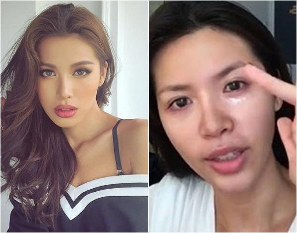 Xinh đẹp, lộng lẫy là thế, nhưng khi livestream nhan sắc mỹ nhân Việt thay đổi chóng mặt thế nào?  - Ảnh 1