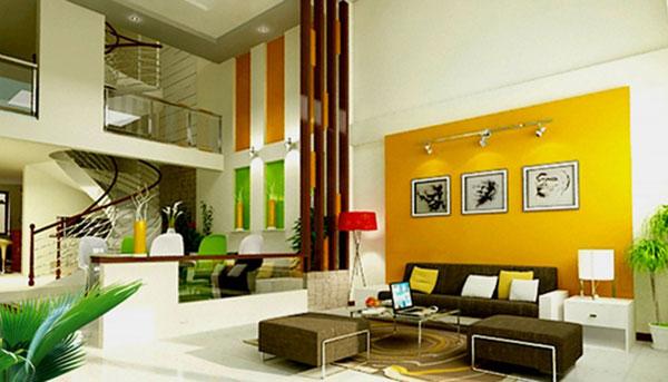 Lựa chọn màu sơn phù hợp với nội thất sẽ giúp các gia đình có thêm vận may