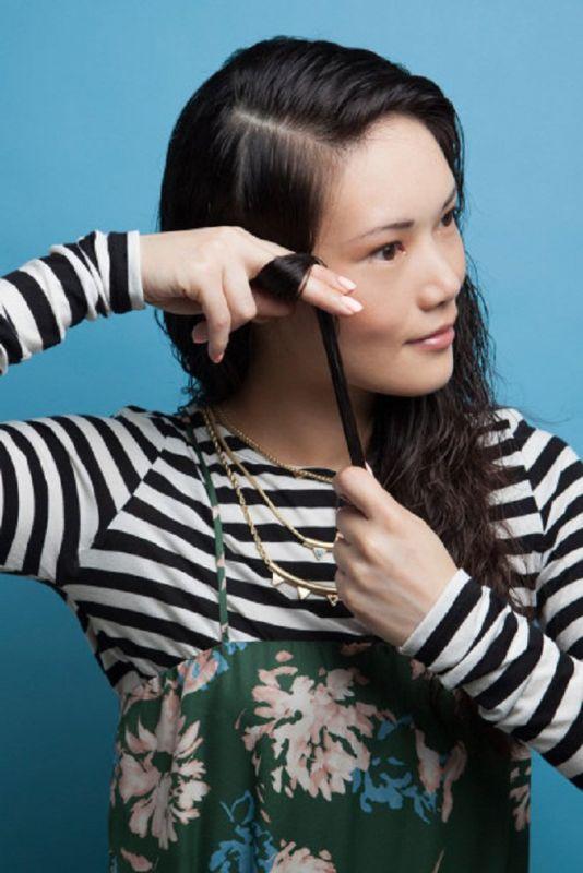 Dùng tay cũng có thể làm tóc xoăn đẹp tự nhiên