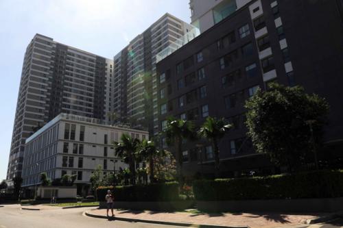 Khu đất 119 Phổ Quang, P.9, quận Phú Nhuận, TP HCM (diện tích 15.028m2, dự án Golden Mansion). Ảnh: Hữu Khoa