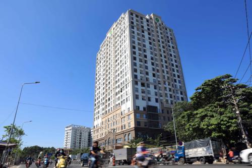 Khu đất số 38 Trương Quốc Dung, P.8, quận Phú Nhuận, TP HCM (diện tích 4.300m2, dự án Newton Residence). Ảnh: Hữu Khoa