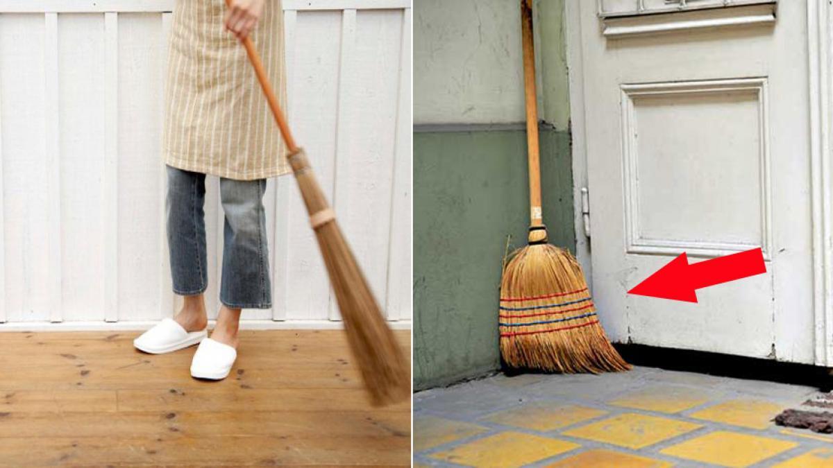 Kiêng quét nhà, đổ rác là những điều dễ thấy ở nhiều gia đình Việt Nam và Trung Quốc trong những ngày đầu năm mới