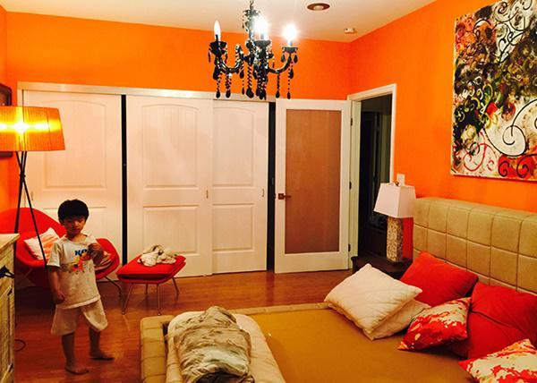 Nhà Hồng Nhung có 4 phòng ngủ.