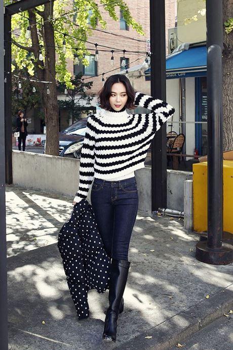 3 cách mặc áo len cực đẹp trong ngày lạnh - Ảnh 2