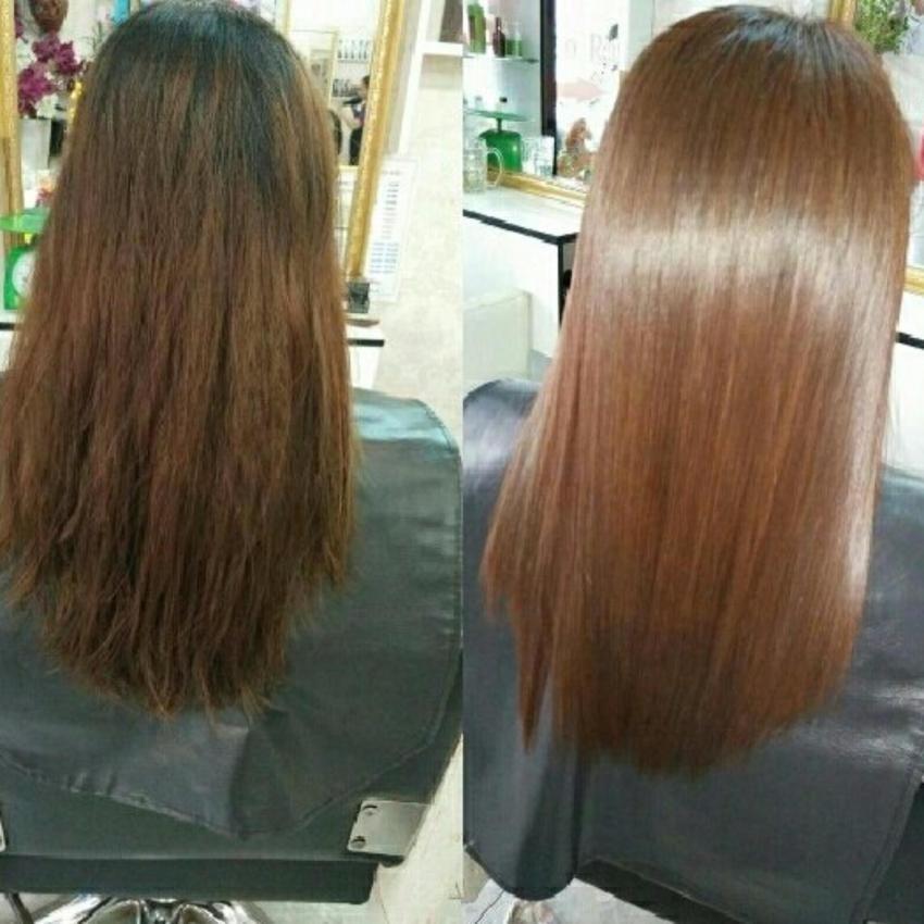 Tóc nhuộm nếu không được chăm sóc kĩ lưỡng sẽ bị phai màu, khô xơ, hư tổn nặng nề