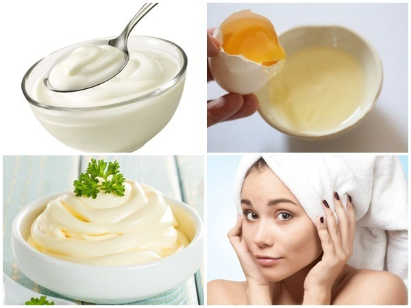 Mặt nạ ủ tóc từ sữa chua, trứng gà và mayonnaise là nguyên liệu tốt nhất chăm sóc, phục hồi mái tóc nhuộm nhanh chóng