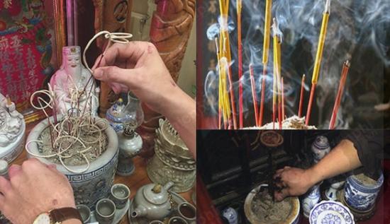 Sau lế cúng ông Công ông Táo, mỗi gia đình cần thực hiện việc tỉa chân hương hoặc thay tro bát hương nếu cần thiết