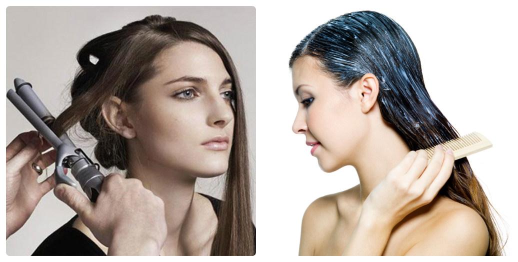Tuyệt đối không nên áp dụng nhiều phương pháp làm đẹp cùng một lúc vì sẽ gây tổn hại nghiêm trọng đến tóc nhuộm