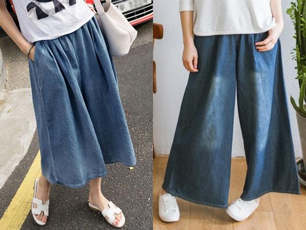 Quần jeans rộng thùng thình mang đến cho chị em sự thoải mái, cá tính và táo bạo
