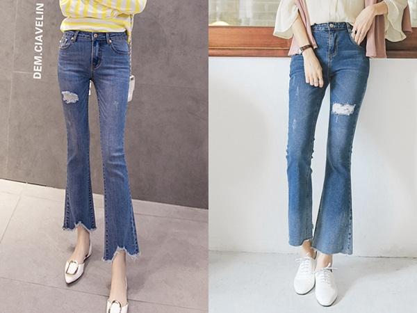 Thoải mái và cổ điển là những gì quần jeans ống loe mang đến cho người mặc