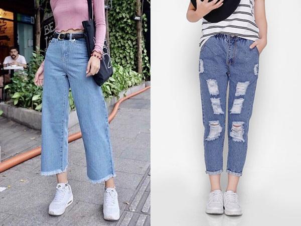 Trong khoảng thời gian qua, quần baggy jeans đã được cách điệu và trở nên chất hơn rất nhiều