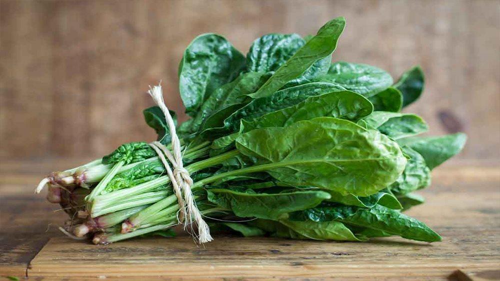 Cải bó xôi chứa nhiều chất dinh dưỡng tốt cho sức khỏe phòng the