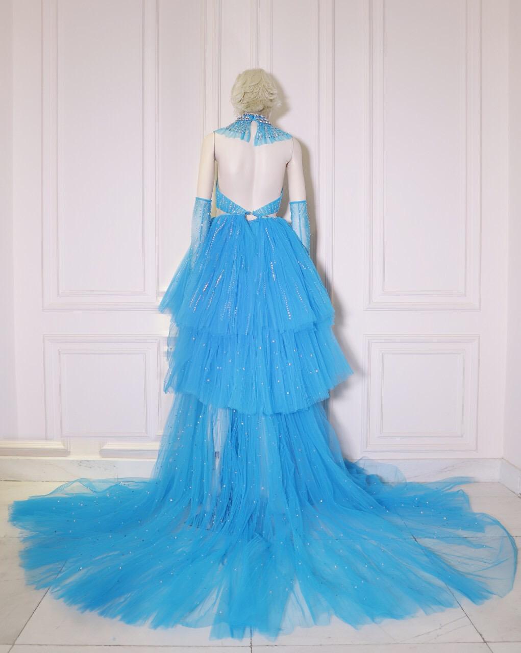 Công Trí hoàn thành chiếc váy trong vòng 24 giờ để gửi cho Katy Perry  - Ảnh 2