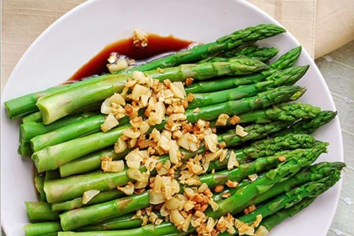 Hàm lượng chất xơ cao trong măng tây rất có lợi cho hoạt động của hệ tiêu hóa