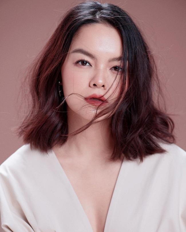 Phạm Quỳnh Anh khẳng định đây là dáng lông mày tự nhiên của cô.