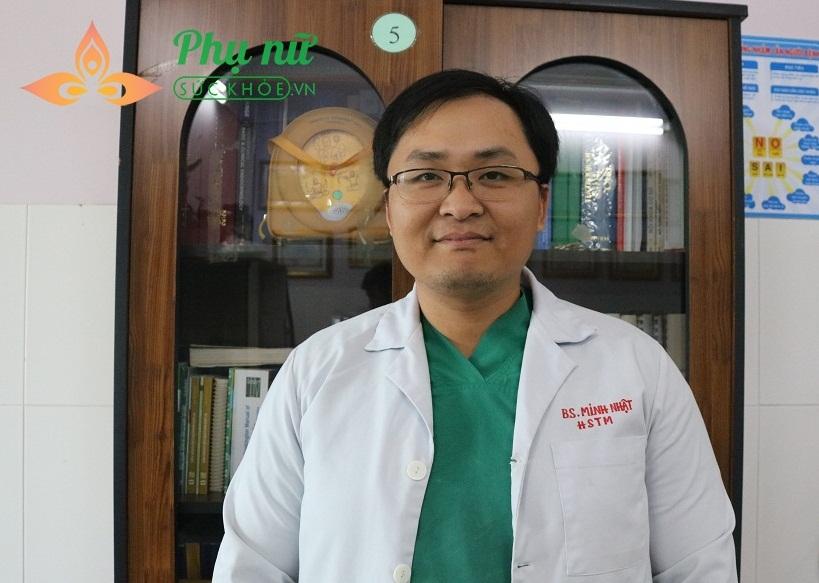 bác sĩ Huỳnh Minh Nhật, khoa Hồi sức Tim mạch bệnh viện quận Thủ Đức