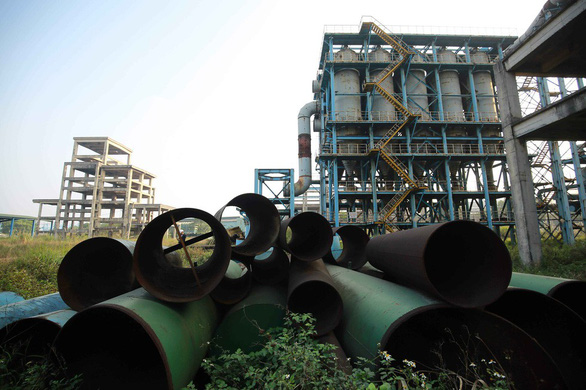 Nhà máy Gang-thép Thái Nguyên được đầu tư hàng ngàn tỉ đồng nhưng cả chục năm nay nằm