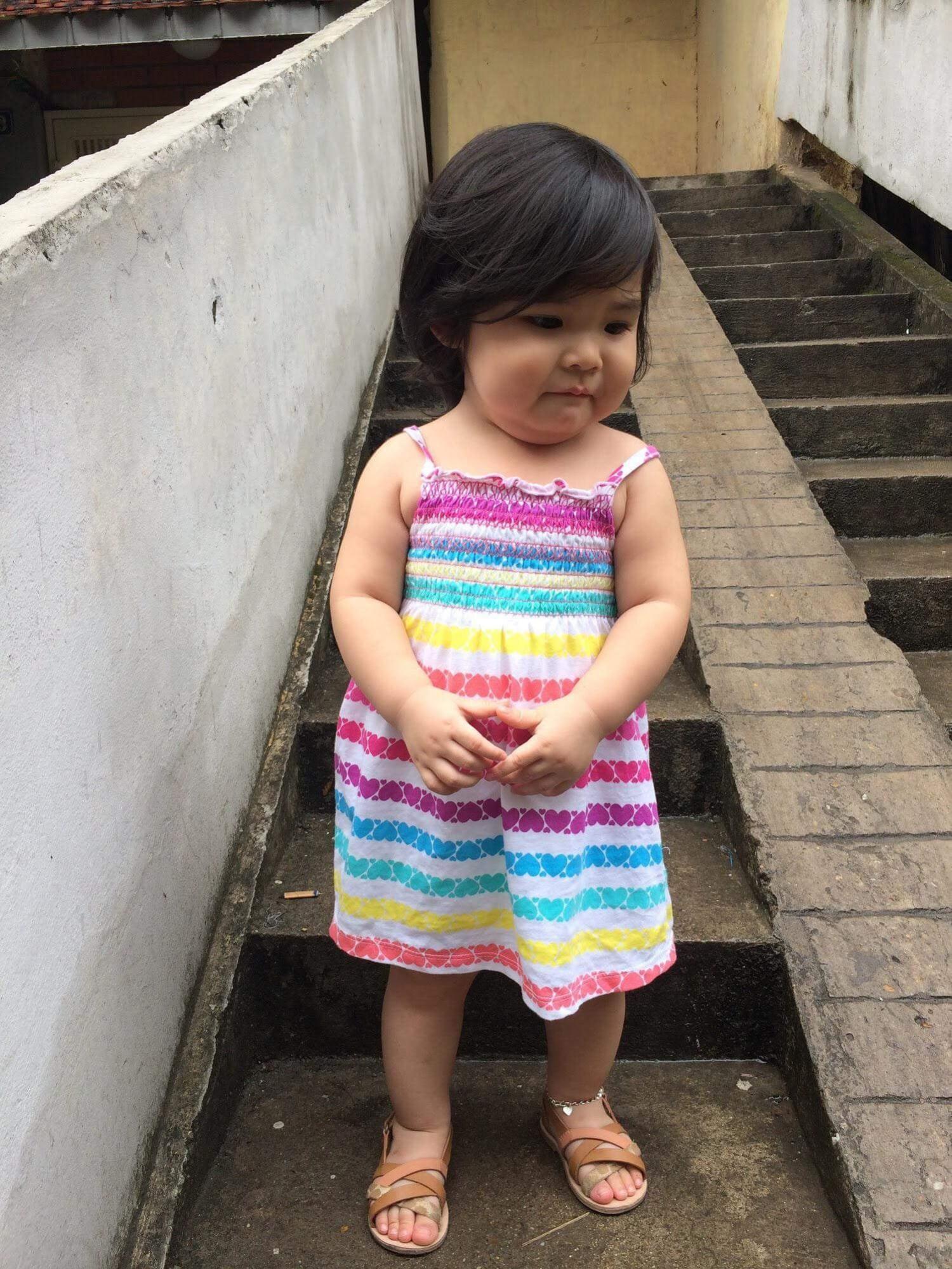 Phiên bản 'thiếu nữ bên hoa huệ' của cô bé 5 tuổi 'gây bão' cộng đồng mạng, hội chị em nhất quyết 'phải sinh con gái' - Ảnh 13