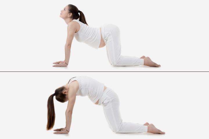 Tư thế yoga giúp bà bầu giảm nhẹ chứng đau lưng trong thời kỳ mang thai - Ảnh 2