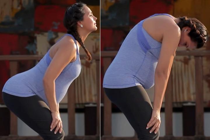 Tư thế yoga giúp bà bầu giảm nhẹ chứng đau lưng trong thời kỳ mang thai - Ảnh 3