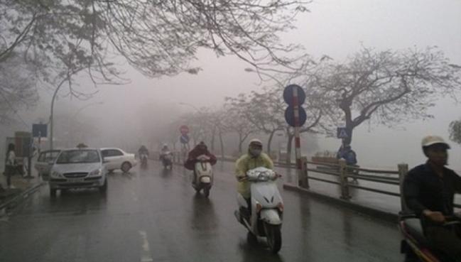 Dự báo thời tiết ngày 22/2: Không khí lạnh tăng cường, Bắc Bộ mưa rào và dông, Nam Bộ nắng nóng - Ảnh 1