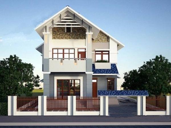 Những mẫu nhà 2 tầng đẹp cho gia đình đông người ở thoải mái - Ảnh 1
