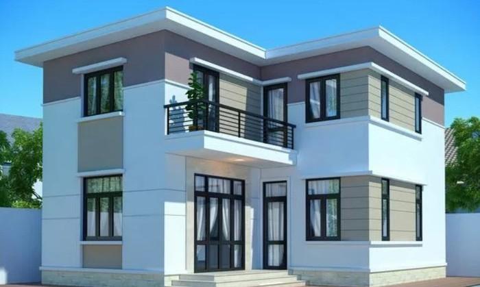 Những mẫu nhà 2 tầng đẹp cho gia đình đông người ở thoải mái - Ảnh 3