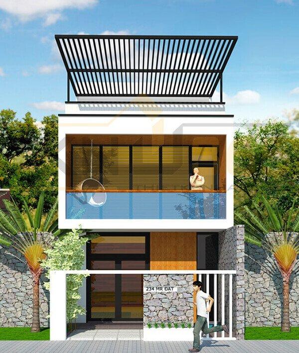Những mẫu nhà 2 tầng đẹp cho gia đình đông người ở thoải mái - Ảnh 7