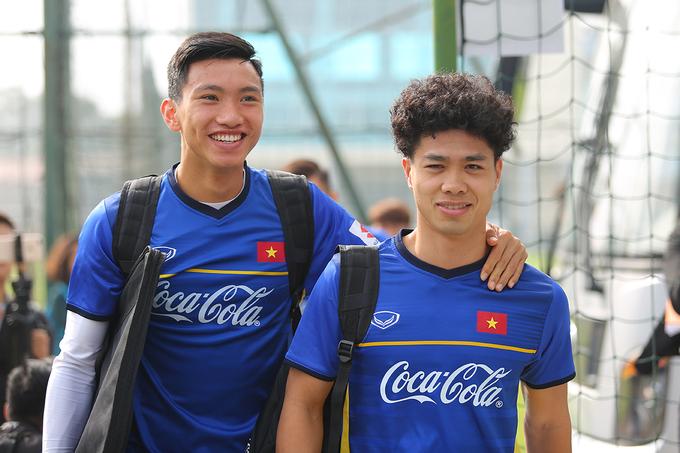 Dàn cầu thủ U23 Việt Nam hóa