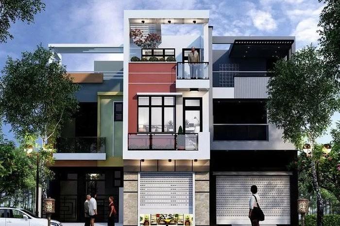 Những mẫu nhà 2 tầng đẹp cho gia đình đông người ở thoải mái - Ảnh 4