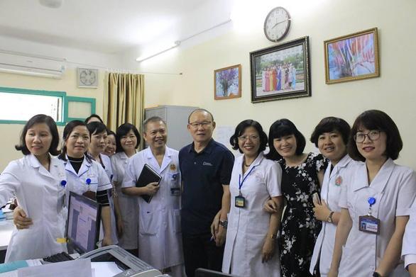 Ông Park Hang Seo làm đại sứ thiện chí chương trình 'Sức khỏe Việt Nam' - Ảnh 1