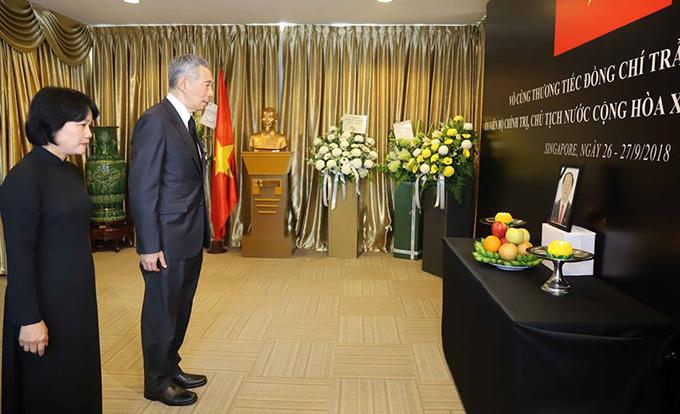 Lễ viếng Chủ tịch nước Trần Đại Quang tại các nước - Ảnh 11