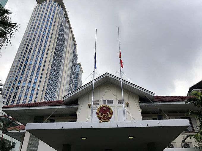 Lễ viếng Chủ tịch nước Trần Đại Quang tại các nước - Ảnh 14