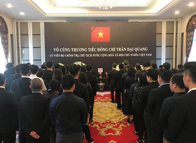 Lễ viếng Chủ tịch nước Trần Đại Quang tại các nước - Ảnh 15