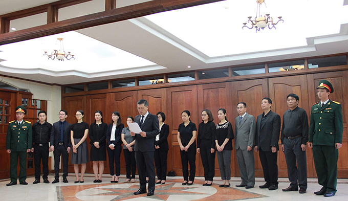 Lễ viếng Chủ tịch nước Trần Đại Quang tại các nước - Ảnh 18