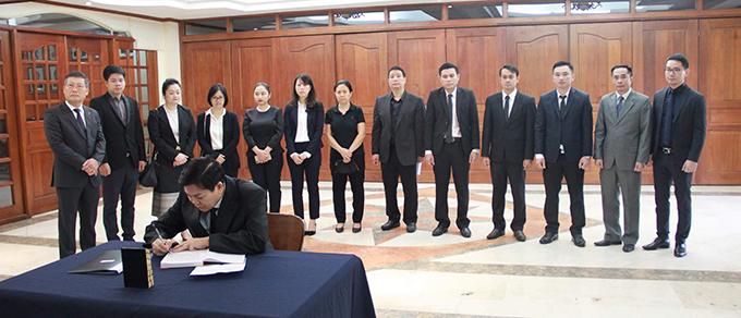 Lễ viếng Chủ tịch nước Trần Đại Quang tại các nước - Ảnh 19