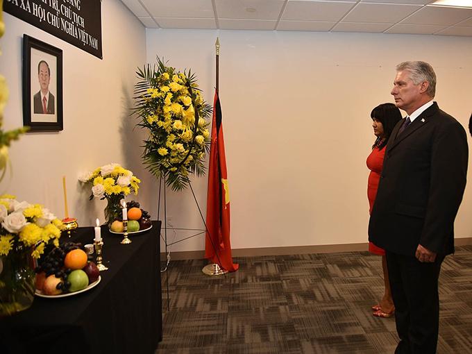 Lễ viếng Chủ tịch nước Trần Đại Quang tại các nước - Ảnh 4