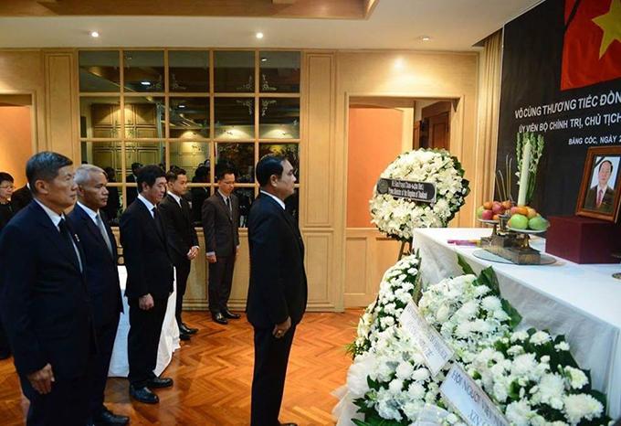 Lễ viếng Chủ tịch nước Trần Đại Quang tại các nước - Ảnh 9