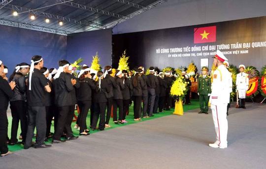 Chủ tịch nước Trần Đại Quang đã về với đất mẹ quê hương - Ảnh 3