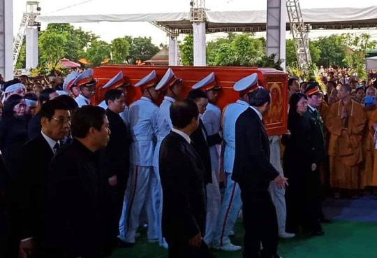 Chủ tịch nước Trần Đại Quang đã về với đất mẹ quê hương - Ảnh 2