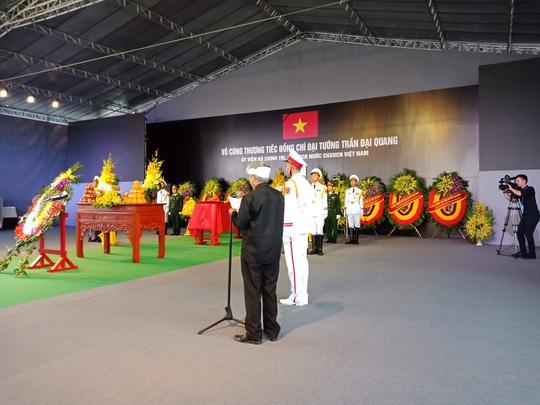 Chủ tịch nước Trần Đại Quang đã về với đất mẹ quê hương - Ảnh 6
