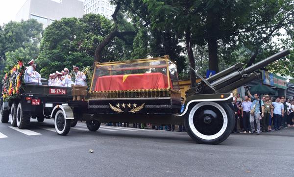 Lễ truy điệu và di quan Chủ tịch nước Trần Đại Quang - Ảnh 7