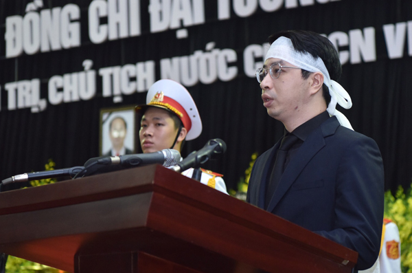 Lễ truy điệu và di quan Chủ tịch nước Trần Đại Quang - Ảnh 4