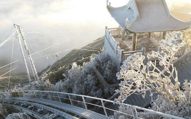 Dự báo thời tiết ngày 29/12: Miền Bắc rét đậm, mưa rào, đỉnh Fansipan đã xuất hiện băng tuyết - Ảnh 1