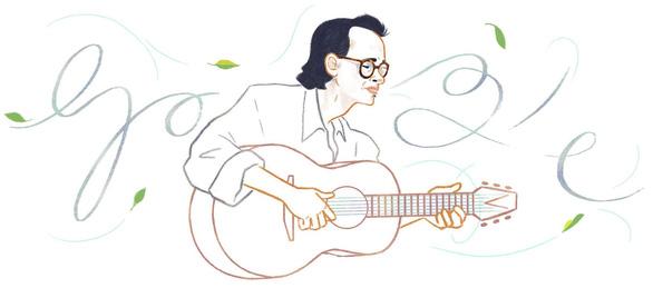 Google vinh danh nhạc sĩ Trịnh Công Sơn với biểu tượng Doodle - Ảnh 1