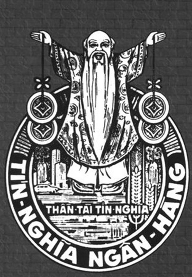 Hình ảnh Tín Nghĩa ngân hàng với ông thần tài cầm 2 xâu tiền đã làm cho nhiều người thích thú nhưng các đối thủ xốn mắt